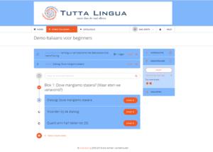 Italiaans leren online